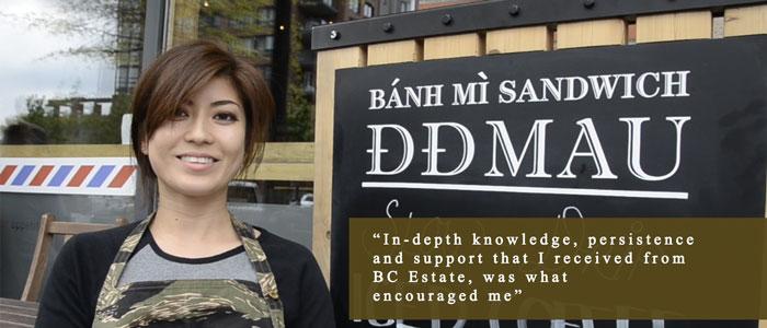 BC Estate Testimonial :: Kim Tran :: DD Mau